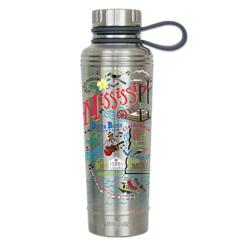 Mississippi Thermal Bottle Thermal Bottle catstudio