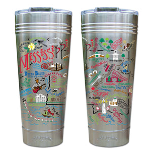 Mississippi Thermal Tumbler (Set of 4) - PREORDER Thermal Tumbler catstudio