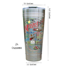 Load image into Gallery viewer, Mississippi Thermal Tumbler (Set of 4) - PREORDER Thermal Tumbler catstudio