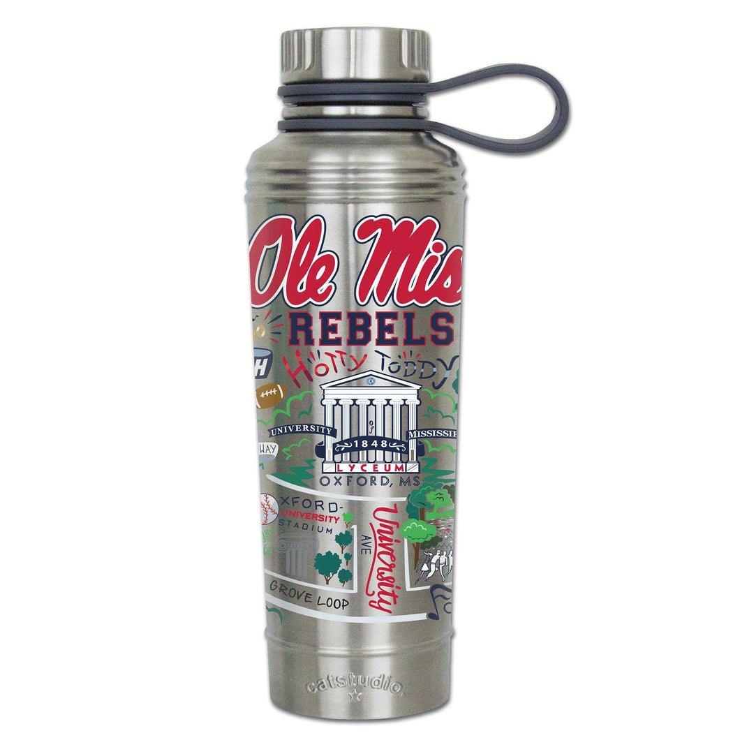 Mississippi, University of (Ole Miss) Collegiate Thermal Bottle - catstudio