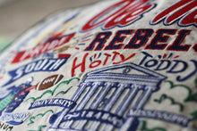 Load image into Gallery viewer, Mississippi, University of (Ole Miss) Collegiate Embroidered Pillow - catstudio