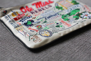 Mississippi, University of (Ole Miss) Collegiate Pouch Pouch catstudio