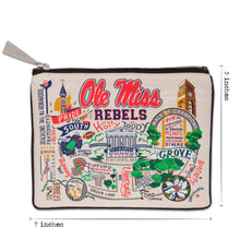 Load image into Gallery viewer, Mississippi, University of (Ole Miss) Collegiate Pouch Pouch catstudio