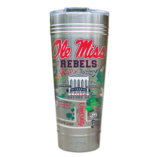 Mississippi, University of (Ole Miss) Collegiate Thermal Tumbler (Set of 4) - PREORDER Thermal Tumbler catstudio