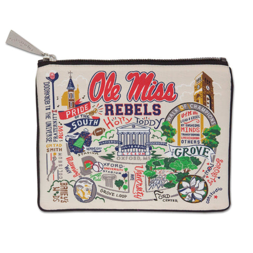 Mississippi, University of (Ole Miss) Collegiate Zip Pouch - catstudio