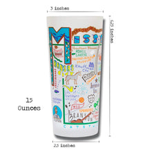 Load image into Gallery viewer, Missouri Drinking Glass - catstudio