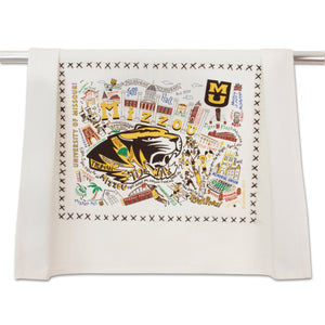 Missouri, University of (Mizzou) Collegiate Dish Towel Dish Towel catstudio