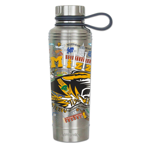 Missouri, University of (Mizzou) Collegiate Thermal Bottle - catstudio