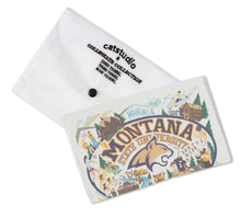 Load image into Gallery viewer, Montana State University Collegiate Dish Towel - catstudio