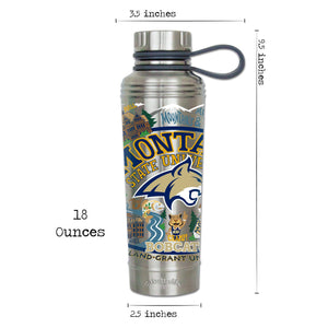 Montana State University Collegiate Thermal Bottle - catstudio