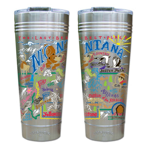 Montana Thermal Tumbler (Set of 4) - PREORDER Thermal Tumbler catstudio