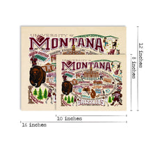 Load image into Gallery viewer, Montana, University of Collegiate Fine Art Print - catstudio