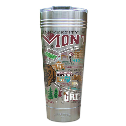 Montana, University of Collegiate Thermal Tumbler (Set of 4) - PREORDER Thermal Tumbler catstudio