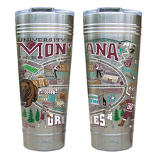 Load image into Gallery viewer, Montana, University of Collegiate Thermal Tumbler (Set of 4) - PREORDER Thermal Tumbler catstudio