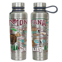 Load image into Gallery viewer, Montana, University of Collegiate Thermal Bottle - catstudio