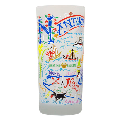 Nantucket Drinking Glass - catstudio