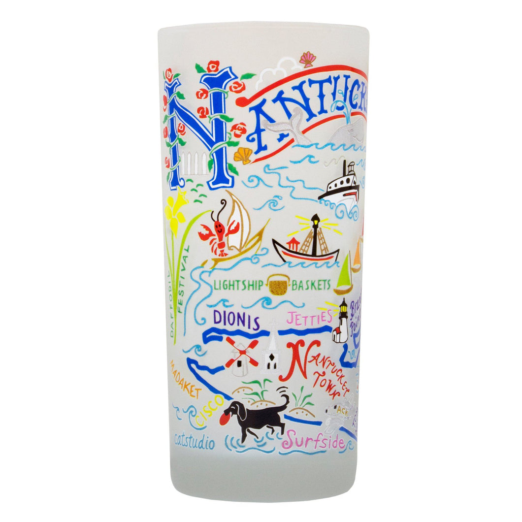 Nantucket Drinking Glass Glass catstudio