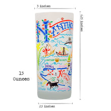 Load image into Gallery viewer, Nantucket Drinking Glass - catstudio