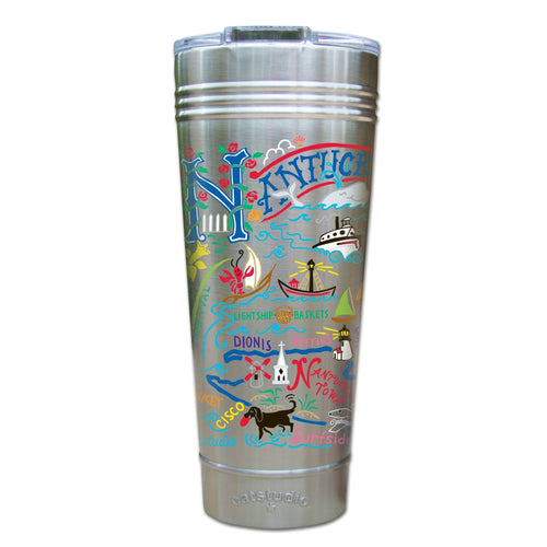 Nantucket Thermal Tumbler (Set of 4) - PREORDER Thermal Tumbler catstudio