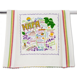 Napa Valley Dish Towel - catstudio