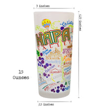 Load image into Gallery viewer, Napa Valley Drinking Glass - catstudio
