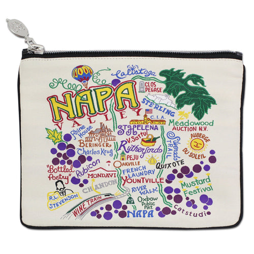 Napa Valley Zip Pouch - catstudio