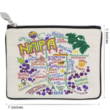 Load image into Gallery viewer, Napa Valley Zip Pouch - Coming Soon! Pouch catstudio