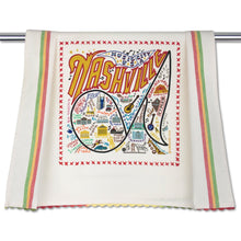 Load image into Gallery viewer, Nashville Dish Towel Dish Towel catstudio