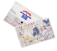 Load image into Gallery viewer, Navy Dish Towel - catstudio