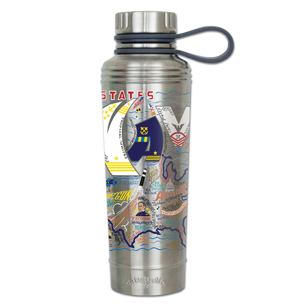 Navy Thermal Bottle - Coming Soon! Thermal Bottle catstudio