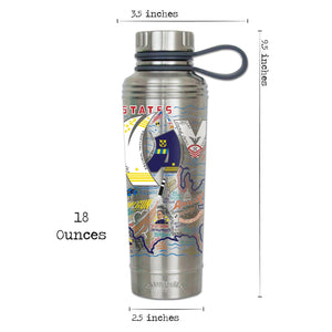 Navy Thermal Bottle - catstudio