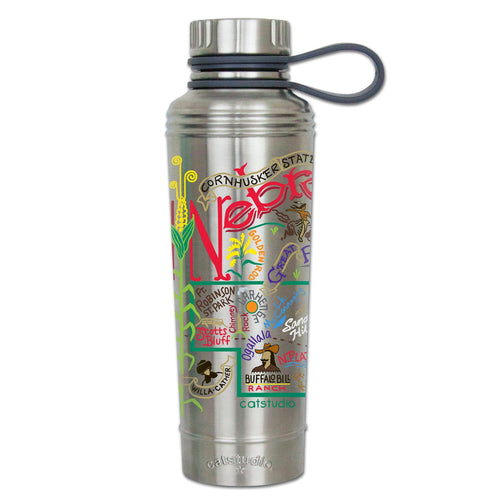 Nebraska Thermal Bottle - catstudio