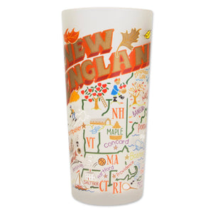 New England Drinking Glass - catstudio