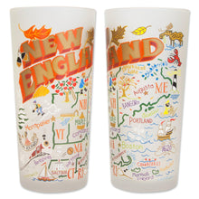 Load image into Gallery viewer, New England Drinking Glass - catstudio