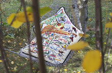 Load image into Gallery viewer, New England Hand-Embroidered Pillow Pillow catstudio