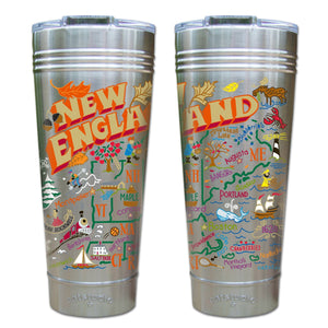 New England Thermal Tumbler (Set of 4) - PREORDER Thermal Tumbler catstudio