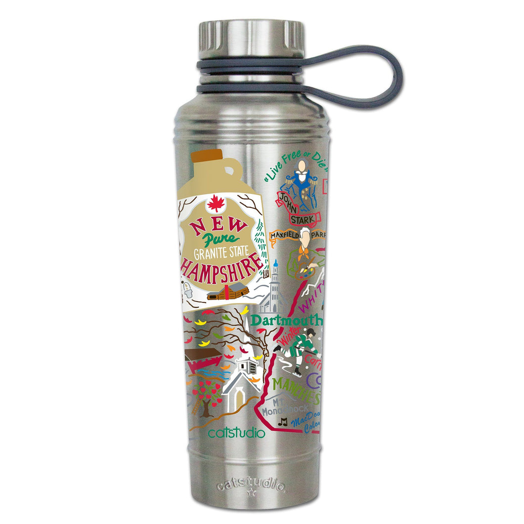 New Hampshire Thermal Bottle - catstudio