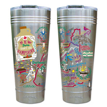 Load image into Gallery viewer, New Hampshire Thermal Tumbler (Set of 4) - PREORDER Thermal Tumbler catstudio