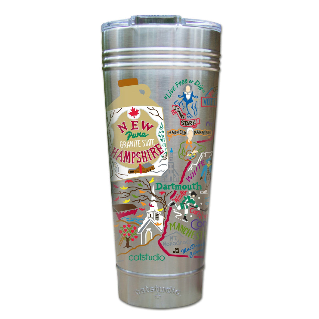 New Hampshire Thermal Tumbler (Set of 4) - PREORDER Thermal Tumbler catstudio