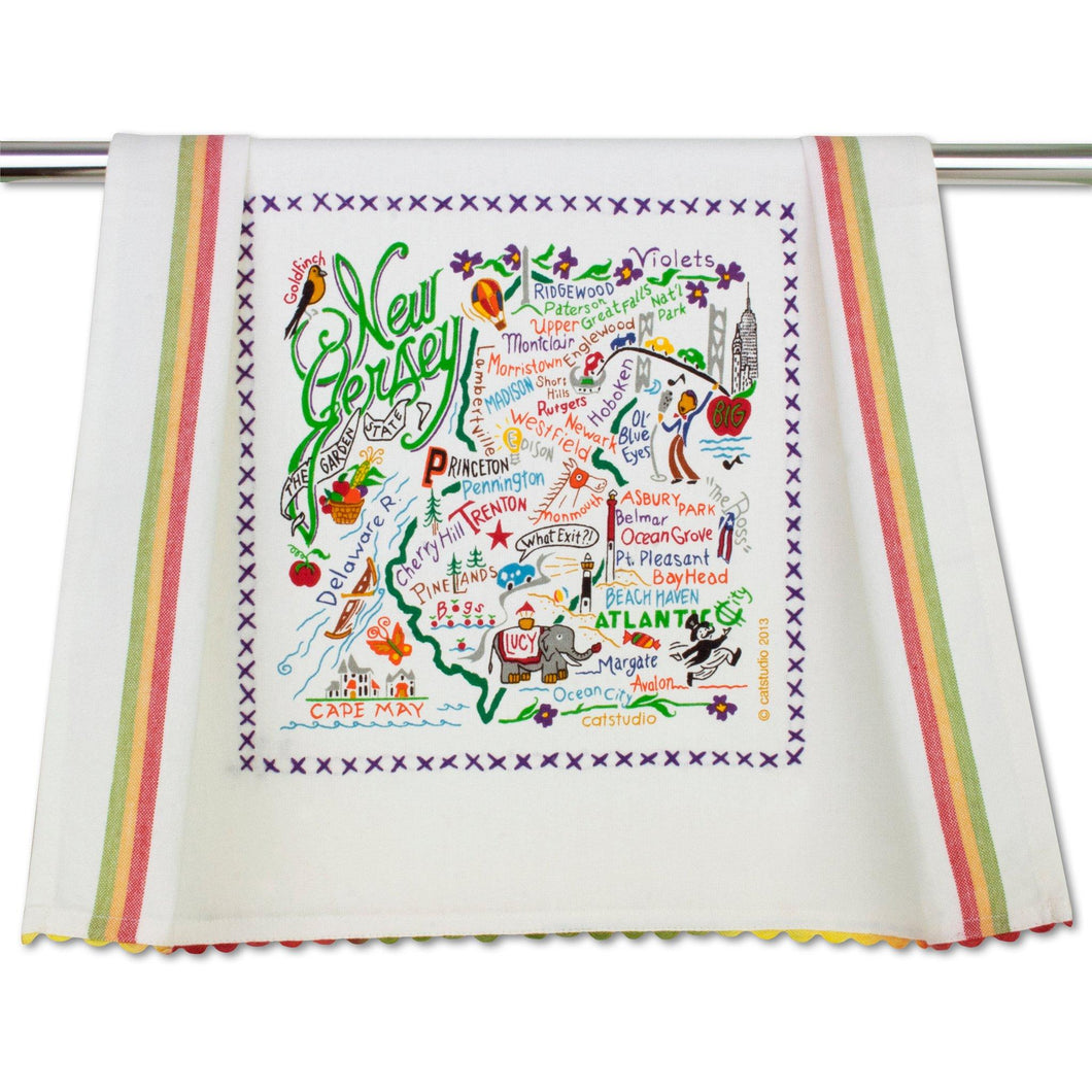 New Jersey Dish Towel Dish Towel catstudio
