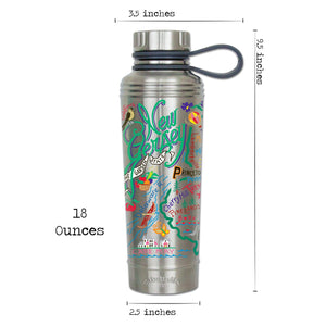 New Jersey Thermal Bottle - catstudio