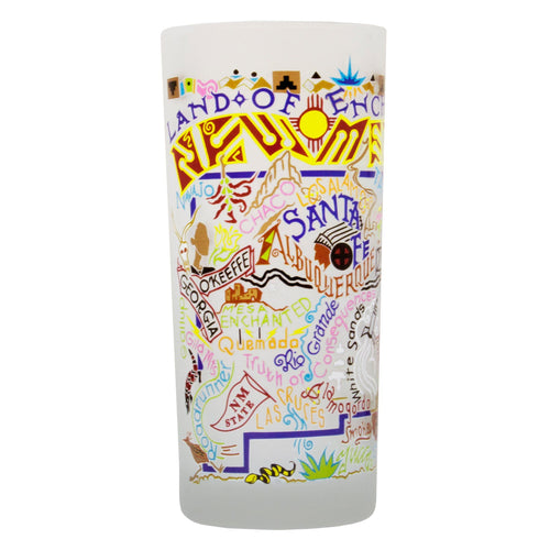 New Mexico Drinking Glass - catstudio