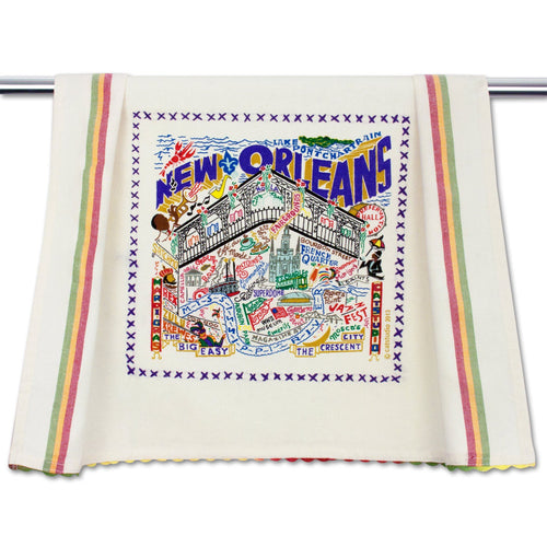 New Orleans Dish Towel - catstudio