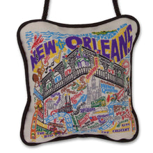 Load image into Gallery viewer, New Orleans Mini Pillow Ornament Mini Pillow catstudio