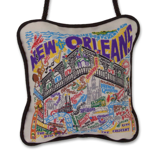 New Orleans Mini Pillow Ornament Mini Pillow catstudio
