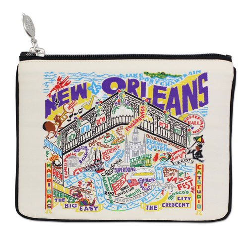 New Orleans Pouch Natural Pouch catstudio