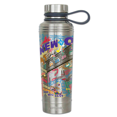 New Orleans Thermal Bottle - catstudio