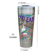 Load image into Gallery viewer, New Orleans Thermal Tumbler (Set of 4) - PREORDER Thermal Tumbler catstudio