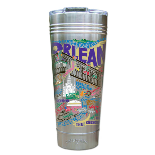 New Orleans Thermal Tumbler (Set of 4) - PREORDER Thermal Tumbler catstudio