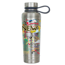 Load image into Gallery viewer, New York City Thermal Bottle - Stainless Steel Thermal Bottle catstudio